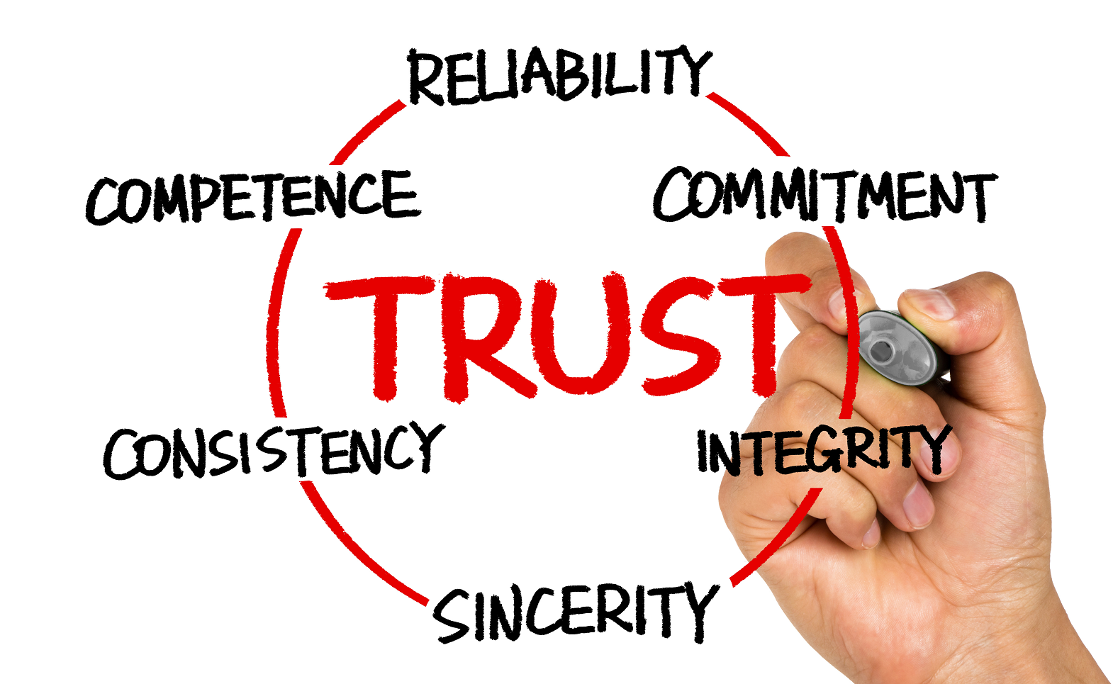 Building trust in a cynical world