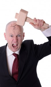 Do you feel like your hitting yourself with a mallet trying to move your business forward?